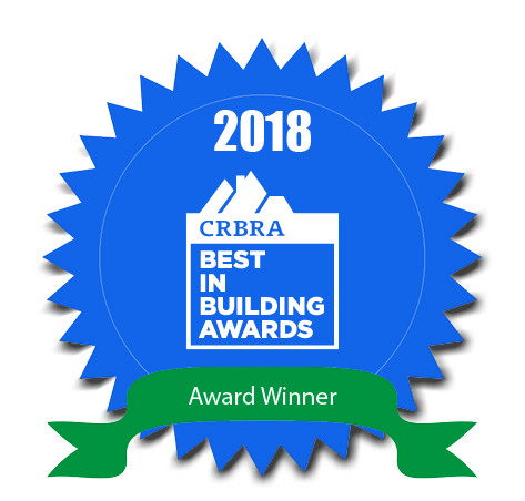 2018 CRBRA best in building awards