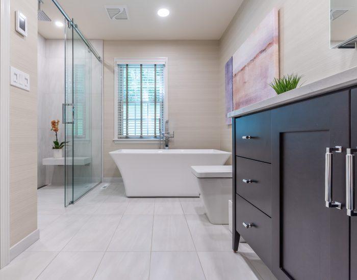 Spa like bathroom in Albany, NY