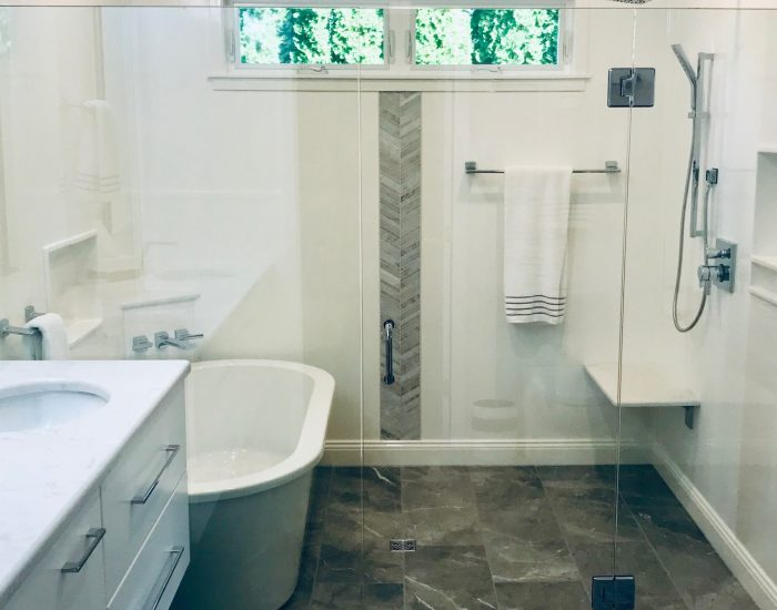 new remodeled bathroom