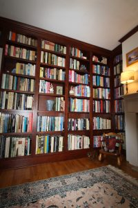 Shelving with library