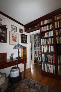 Shelves in home library