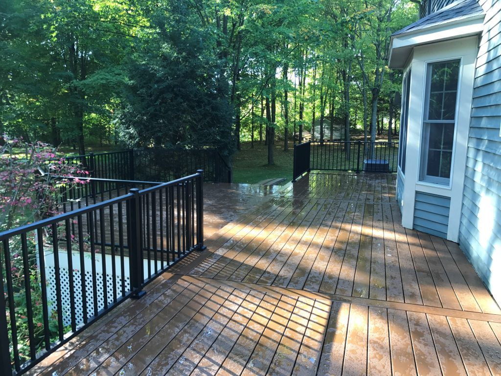 new deck installation